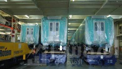 """صورة بالصور.. الأعلان عن القطارات الجديدة بعد تسلمها """"يعمل بدون سائق"""""""