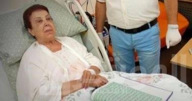 """صورة مصدر طبى يكشف تفاصيل الحالة الصحية للفنانة رجاء الجداوي بعد حقنها """" ببلازما المتعافين"""""""