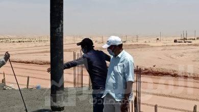 صورة وزير الإسكان : بدء صب أسقف الدور الرابع علوى بعمارات «JANNA » للإسكان الفاخر