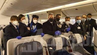 صورة مصر للطيران تنفي عزل أطقم الضيافة الجوية بعد الرحلات لمدة 14 يوم