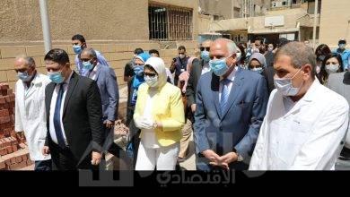 صورة هالة و راشد اطئمنا علي مبادرة ١٠٠مليون صحة بأم المصريين و اكتوبر