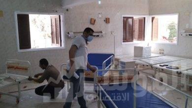 صورة افتتاح مستشفى العزل والحجر الصحي بمركز منفلوط