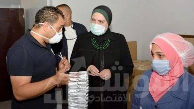 صورة وزيرة التجارة والصناعة تتفقد مجمعى الصناعات البلاستيكية بمنطقة مرغم بالإسكندرية