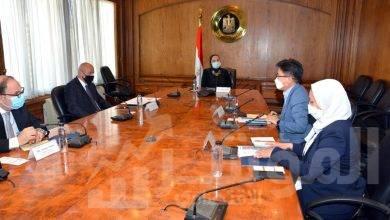 صورة وزيرة التجارة والصناعة تبحث مع مسئولي شركة سامسونج مصر خطط الشركة لزيادة استثماراتها خلال المرحلة المقبلة
