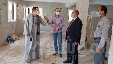 صورة استمرارية وصول الأجهزة الطبيه لمستشفى العزل بمنفلوط