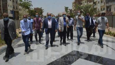 صورة احمد راشد:مهلة اسبوع لحي الهرم لتحسين رصف خالد امين