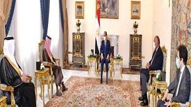 """صورة """"السيسى"""" يستقبل وزير الخارجية السعودى"""" فيصل آل سعود"""""""