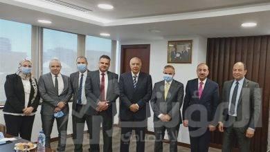 صورة رئيس مجلس بنك التنمية الصناعية يستعرض آليات وأطر التعاون مع شركة غاز مصر