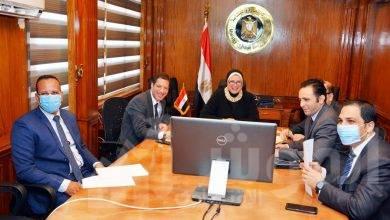 """صورة """"جامع"""" تستعرض مع سفير ألمانيا بالقاهرة مستقبل التعاون الاقتصادى المشترك"""