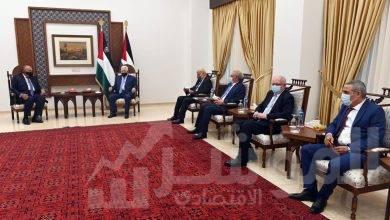 صورة وزير الخارجية سامح شكري فى زيارة إلى رام الله