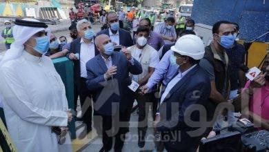 """صورة """"الوزير """"يتفقد محطة صفاء حجازي بالزمالك بالمرحلة الثالثة من الخط الثالث لمترو الأنفاق"""