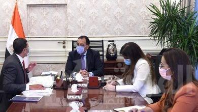 """صورة مدبولى يتابع مع رئيس """"هيئة الاستثمار"""" عددا من الملفات"""