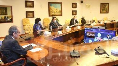 صورة وزير الاتصالاتيشهد توقيع مذكرة تفاهم بين معهد تكنولوجيا المعلومات وشركة فودافون مصر
