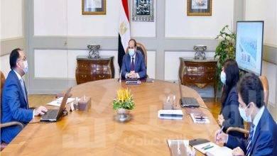 """صورة """" السيسي """" يستعرض استراتيجية وزارة التعاون الدولي في التعاون مع الشركاء ومؤسسات التمويل الدولية المختلفة"""