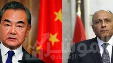 صورة شكرى يبحث هاتفياً مع نظيره الصيني آخر التطورات على الساحة الليبية
