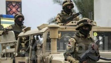 صورة إحباط هجوم إرهابى على إحدى الإرتكازات الأمنية بشمال سيناء