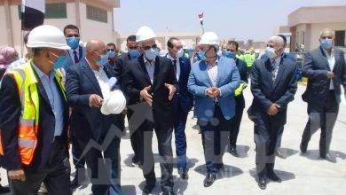 صورة محافظ الجيزة يؤكد علي الانتهاء من مشروعات الصرف الصحي