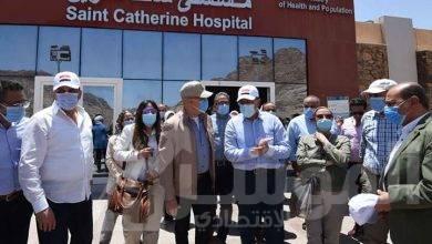 """صورة """"مدبولي"""" يتفقد أعمال التطوير بمستشفى سانت كاترين"""