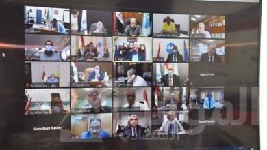 """صورة """"الجزار"""" يترأس اجتماع اللجنة التنسيقية العليا لشركات مياه الشرب والصرف الصحى"""