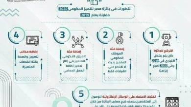 صورة تقرير حول جائزة مصر للتميز الحكومي