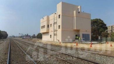 صورة وزير النقل يعلن دخول برج ملوى لإشارات السكك الحديدية بمحافظة المنيا الخدمة