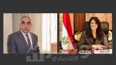 صورة المشاط و السفير العراقي اتفقا:مشاركة القطاع الخاص في إعادة إعمار العراق و انعقاد اللجنة المشتركة قريبا