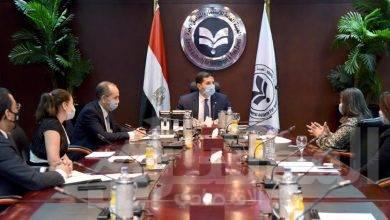 صورة رئيس هيئة الاستثمار يلتقى مسئولى شركة مارس-ريجلى الأمريكية