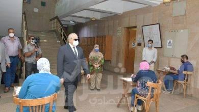 صورة د.الخشت:لجان طبية  للتعامل الفوري مع أية حالة طارئة وتجهيز غرف لعزل المشتبه إصابتهم بكورونا