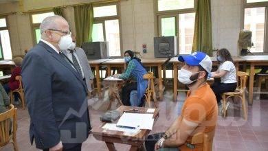صورة د.الخشت:التصحيح اليكتروني عقب انتهاء كل مادة