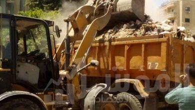 صورة محافظة الجيزة: رفع 3380 طن مخلفات وتراكمات من الاحياء