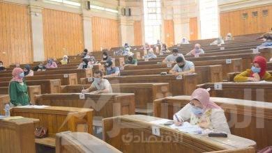 صورة انتهاء الأسبوع الأول من امتحانات التيرم الثاني  بجامعة القاهرة بسلام