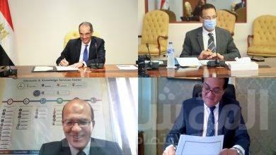 صورة وزيرا التعليم العالي والاتصالات يوقعان برتوكول تعاون