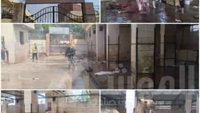 صورة محافظ الجيزة: تطهير وتجهيز ٢٣ مجزر لذبح الاضاحي  بالمجان و ٣ الاف جنبه غرامه الذبح بالشوارع