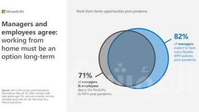 صورة تقرير جديد من مايكروسوفت حولمؤشر توجهات العمل يكشف عن مستقبل العمل والحياة