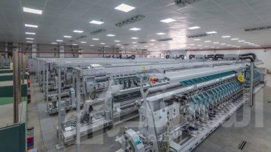 صورة جاما للإنشاءات تنفذ مصنعين للغزل والنسيج بالروبيكي والمحلة الكبرى