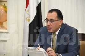 """صورة """"مدبولى"""" يستقبل رئيس الوزراء اليمني بمطار القاهرة"""