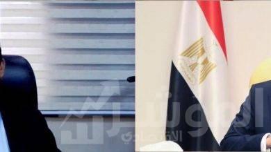 """صورة """"طلعت """" و """"صبحى """" يناقشان التجهيزات الفنية والتكنولوجية لاستضافة مصر لكأس العالم لكرة اليد"""