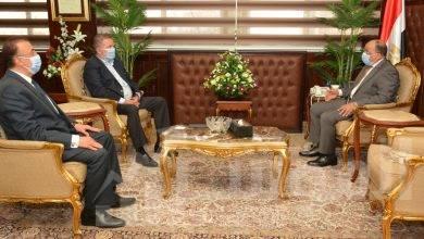 """صورة """"شعراوى """" و """"توفيق """" يبحثان تطوير منطقة المعمورة بالإسكندرية وتحديد مواقع لمحطات شحن السيارات الكهربائية"""