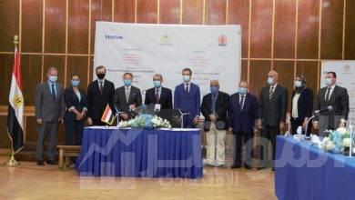 صورة باستثمارات 4,3 مليار جنيه مصري توقيع عقد لتنفيذ مشروع محطة لتوليد الكهرباء من طاقة الرياح