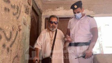 صورة استغاثة كفيف للإدلاء بصوته في انتخابات الشيوخ وأمن القاهرة يلبى