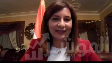 """صورة وزيرة الهجرة تشارك في ندوة """"الأمل الآن"""" من تنظيم جمعية رجال الأعمال بالإسكندرية"""