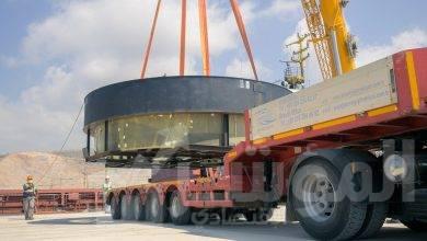 صورة الوحدة الثانية من محطة أكويو النووية تستلم جهاز تحديد الانصهار