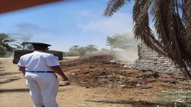 صورة إزالة 14حالة تعدٍ بالبناء المخالف بسمالوط في المنيا