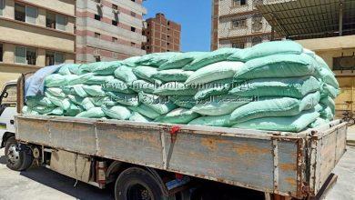 صورة قبل بيعها بالسوق السوداء.. ضبط سيارة مُحملة بـ9 أطنان دقيق مدعم