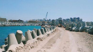 صورة آثار الإسكندرية: إنجاز 53% من أضخم مشروع حماية موقع أثري على الشواطئ المصرية