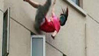 صورة أثناء نشر الغسيل.. مصرع طفلة سقطت من الطابق الـ13 بالمعصرة