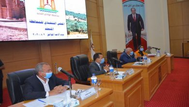 صورة محافظ الوادي الجديد يدعو المواطنين للمشاركة في انتخابات الشيوخ