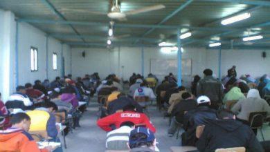 صورة ضبط مدرس جمع 100 طالب داخل مركز تعليمي بأسيوط