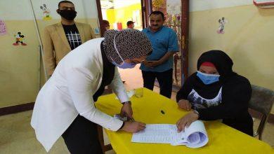 صورة صور .. نائبة محافظ الوادي الجديد تدلى بصوتها وتتفقد اللجان الانتخابية