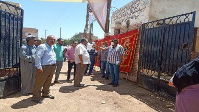 صورة قيادات أسيوط يتفقدون لجان الانتخابات لتوفير كافة الاحتياجات ..صور